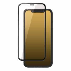 エレコム PM-A19BFLGFRDTB iPhone 11 Pro用 フルカバーガラスフィルム/フレーム付/ドラゴントレイル