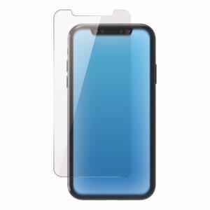 エレコム PM-A19CFLGGBL iPhone 11用 ガラスフィルム/0.33mm/BLカット