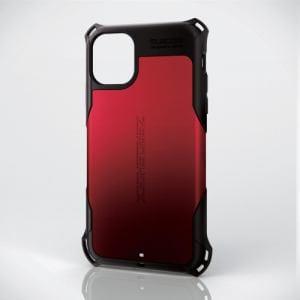 エレコム PM-A19CZERORD iPhone 11用 ZEROSHOCK/スタンダード