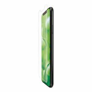 エレコム PM-A19DFLFPRN iPhone 11 Pro Max用 フルカバーフィルム/衝撃吸収/反射防止/透明/防指紋
