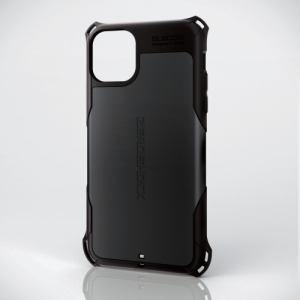 エレコム PM-A19DZEROBK iPhone 11 Pro Max用 ZEROSHOCK/スタンダード