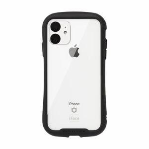 Hamee 41-907351 [iPhone 11専用]iFace Reflection強化ガラスクリアケース(ブラック)