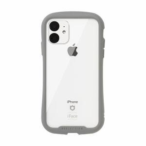 Hamee 41-907368 [iPhone 11専用]iFace Reflection強化ガラスクリアケース(グレー)