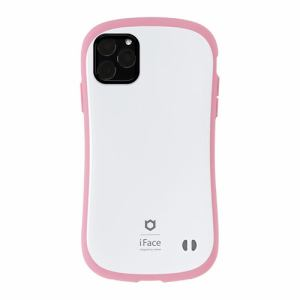 Hamee 41-911617 [iPhone 11 Pro Max専用]iFace First Class Pastelケース(ホワイト/ピンク)