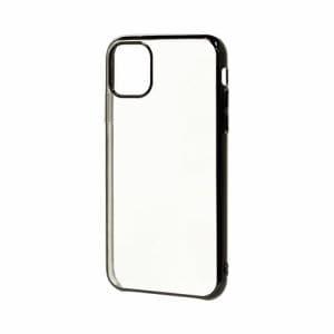 ラスタバナナ 4996IP958TR iPhone 11 Pro用 トライタンメタルフレームケース BK   ブラック