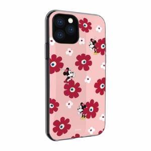 グルマンディーズ DN-651B ディズニーキャラクター IIII fit iPhone 11 Pro 対応ケース ミニーマウス