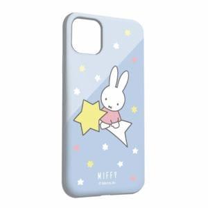 グルマンディーズ MF-85LBL ミッフィー iPhone 11/iPhoneXR 対応ソフトケース 星空