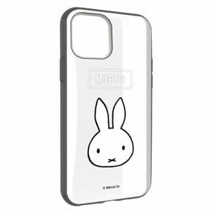 グルマンディーズ MF-90BK ミッフィー IIII fit Clear iPhone 11 Pro Max 対応ケース フェイス
