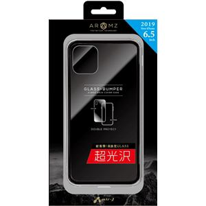 エアージェイ AC-P19L-MC SL iPhone 11 Pro Max用 GLASS&バンパーケース SL   シルバー