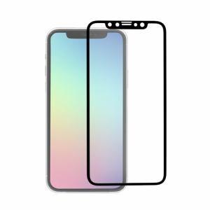 オウルテック OWL-GPIB61F-BAG iPhone11 全面保護ガラス   ブラック