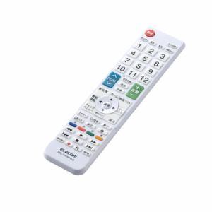 エレコム ERC-TV01WH-LG かんたんTV用リモコン(LG用)   WH