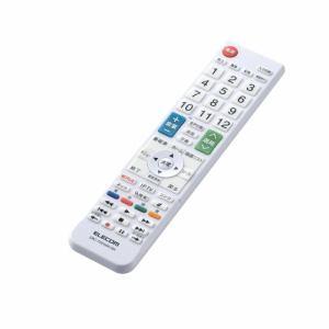 エレコム ERC-TV01WH-SH かんたんTV用リモコン(シャープ用)   WH