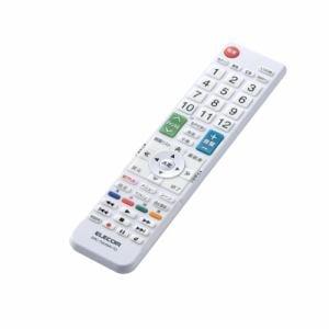 エレコム ERC-TV01WH-TO かんたんTV用リモコン(東芝用)   WH