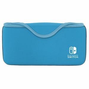 キーズファクトリー QUICK POUCH for Nintendo Switch Lite セルリアンブルー