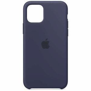 アップル(Apple) MWYJ2FE/A iPhone 11 Pro シリコーンケース ミッドナイトブルー