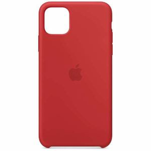 アップル(Apple) MWYV2FE/A iPhone 11 Pro Max シリコーンケース (PRODUCT)RED