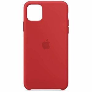 アップル(Apple) MWYV2FE/A iPhone 11 Pro Max シリコーンケース (PRODUCT)RED
