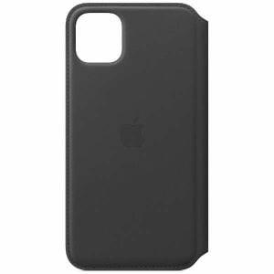 アップル(Apple) MX082FE/A iPhone 11 Pro Max レザーフォリオ ブラック