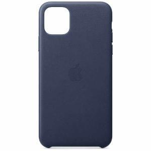 アップル(Apple) MX0G2FE/A iPhone 11 Pro Max レザーケース ミッドナイトブルー