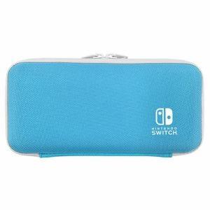 キーズファクトリー SLIM HARD CASE for Nintendo Switch Lite セルリアンブルー