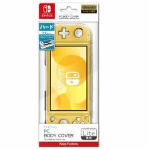キーズファクトリー PC BODY COVER for Nintendo Switch Lite クリア