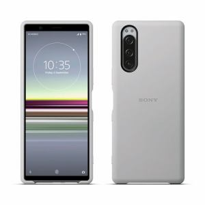 SONY SCBJ10JP/H Xperia 5 Style Cover   グレー
