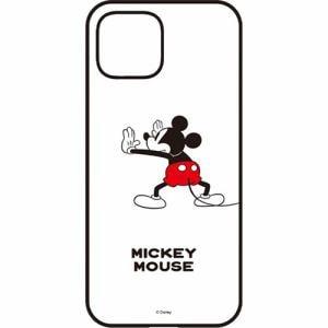 グルマンディーズ DN-666A Pixel 4 IIIIfit ケース ミッキーマウス