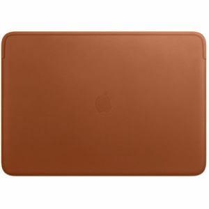 アップル MWV92FE/A 16インチMacBook Pro用 レザースリーブ サドルブラウン