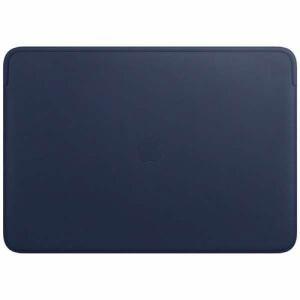 アップル MWVC2FE/A 16インチMacBook Pro用 レザースリーブ ミッドナイトブルー