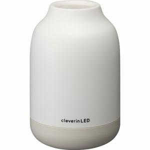 ドウシシャ UGLC-1061IV クレベリンLED搭載 除菌・消臭器 ポット アイボリー