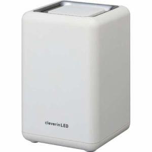 ドウシシャ UGLC-1062WH クレベリンLED搭載 除菌・消臭器 スクエア ホワイト