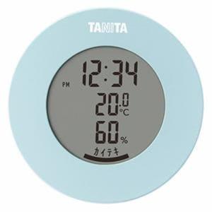 タニタ TT-585 デジタル温湿度計 ライトブルー