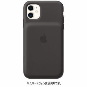 アップル MWVH2ZA/A iPhone 11 Smart Battery Case with Wireless Charging ブラック