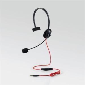 エレコム HS-GM10BK PS4/Switch対応 片耳ゲーミングヘッドセット ブラック