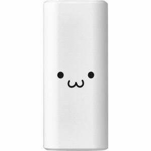 エレコム DE-C18L-10000WF モバイルバッテリー 18W Type-C入出力対応 10000mAh 大容量 ホワイトフェイス