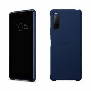 ソニー XQZ-CVAU/LJPCX Xperia 10 II Style Cover View ブルー