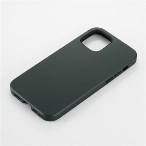 CCCフロンティア iPhone 12 mini (2020年発売 5.4インチ) ケース Smooth Touch Hybrid Case green UNI-CSIP20M-1STGR