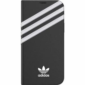 adidas iPhone 12 Pro / iPhone 12 (2020年発売 6.1インチ)OR Booklet Case SAMBA FW20 black/white 42245