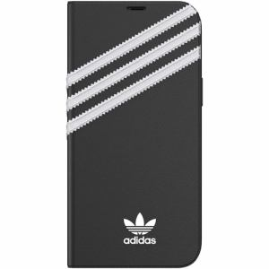 adidas iPhone 12 Pro MAX (2020年発売 6.7インチ) OR Booklet Case SAMBA FW20 black/white 42246