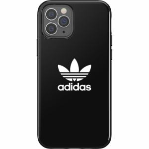 adidas iPhone 12 Pro / iPhone 12 (2020年発売 6.1インチ)OR Snap Case Trefoil FW20 black 42284