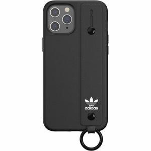 adidas iPhone 12 Pro MAX (2020年発売 6.7インチ) OR Hand Strap Case FW20 black 42395