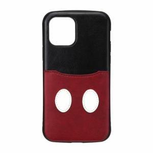 PGA PG-DPT20G01MKY iPhone12/iPhone12 Pro用 タフポケットケース Disney Premium Style ミッキーマウス