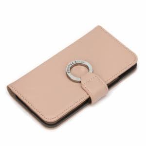 PGA PG-20GFP07BE iPhone12/iPhone12 Pro用 リングフリップカバー Premium Style ベージュ