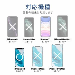 エレコム PM-A20AFLF iPhone 12 mini フィルム 指紋防止 反射防止