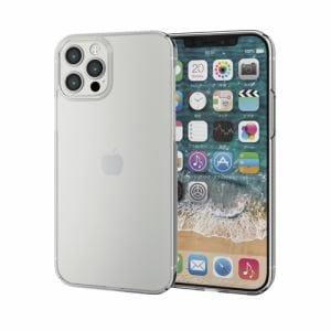 エレコム PM-A20BPVKCR  iPhone 12/12 Pro ハードケース 極み クリア