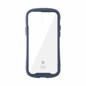 Hamme 41-907-921982 iPhone 12/12 Pro専用iFace Reflection強化ガラスクリアケース   ネイビー