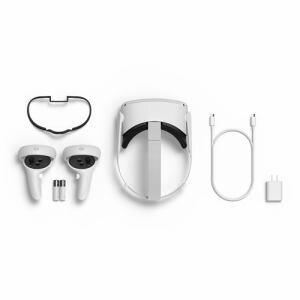 オキュラス Facebook  Oculus VR 301-00352-01 Oculus Quest 2 64GB ライトグレイ オキュラスクエスト2