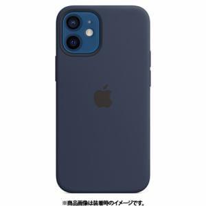 アップル Apple MHKU3FE/A iPhone 12 mini シリコーンケース ディープネイビー