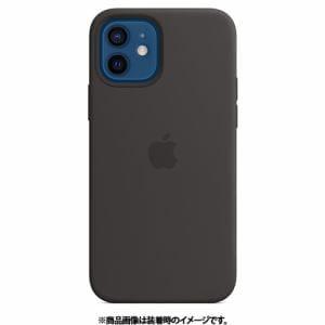 アップル Apple MHL73FE/A iPhone 12/iPhone 12 Pro シリコーンケース ブラック