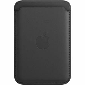 アップル Apple MHLR3FE/A MagSafe対応iPhoneレザーウォレット ブラック